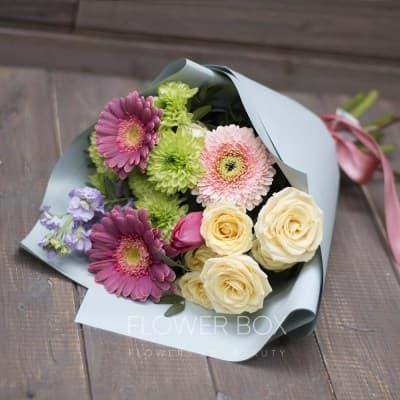 Букет цветов до 1000 рублей 37